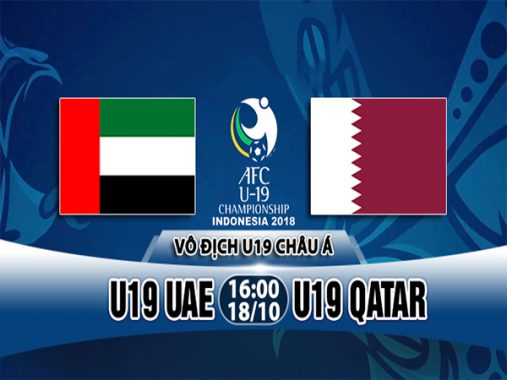 Nhận định U19 UAE vs U19 Qatar, 16h00 ngày 18/10: U19 châu Á 2018