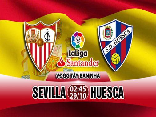 Nhận định Sevilla vs Huesca 02h45, 29/10 (VĐQG Tây Ban Nha)