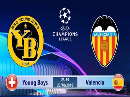 Nhận định Young Boys vs Valencia 23h55, ngày 23/10: Cúp C1 Châu Âu