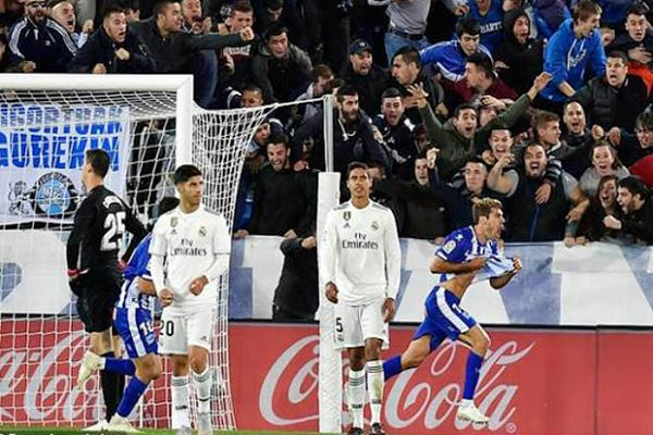 Real Madrid tệ nhất sau 37 năm: thất bại