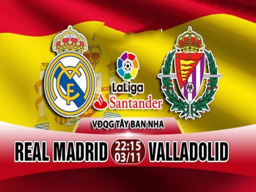 Nhận định Real Madrid vs Valladolid, 22h15 ngày 3/11