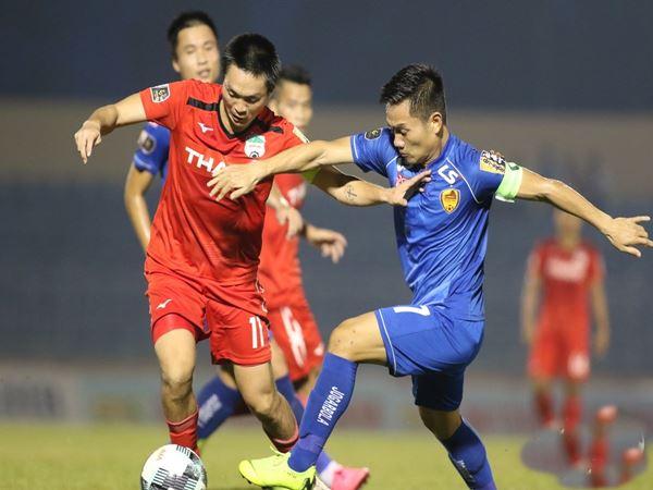 Tuấn Anh có trận đấu năng nổ trước Quảng Nam FC