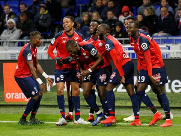 Lille sắp đoạt ngôi á quân Ligue 1 mùa 2018/19