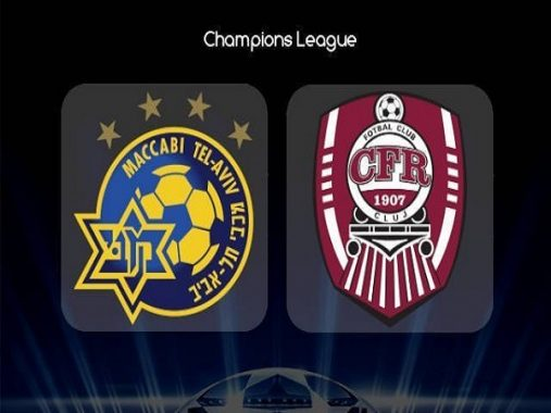 Soi kèo Maccabi Tel Aviv vs CFR Cluj, 0h00 ngày 31/07