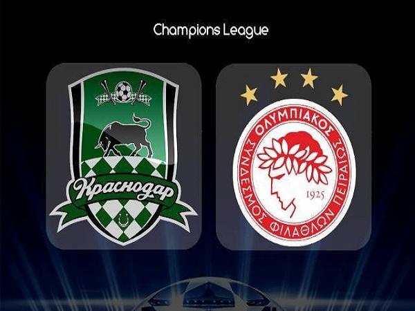 Nhận định Krasnodar vs Olympiacos, 2h00 ngày 28/08