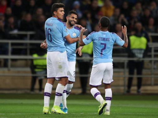 """Thắng dễ Shakhtar Donetsk, HLV Guardiola đưa học trò lên """"mây xanh"""""""