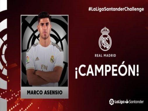 Marco Asensio mang về vinh dự cho Real trong mùa dịch