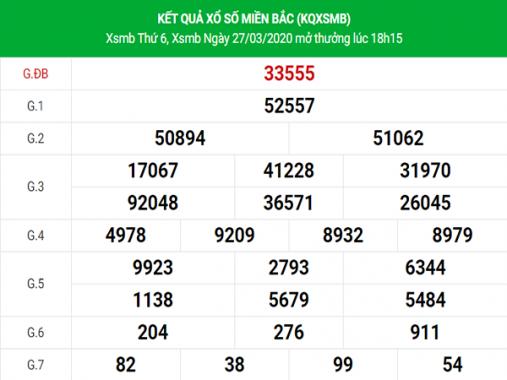 KQXSMB ngày 28/3/2020 – Thống kê soi cầu XSMB thứ 7
