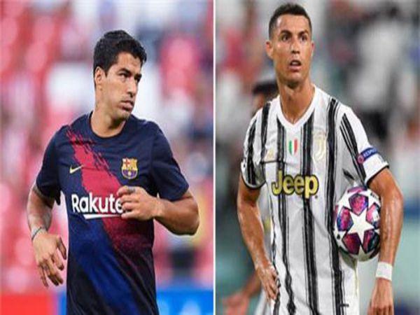 Tin bóng đá trưa 28/8: Suarez sẽ đá cặp với Ronaldo ở Juventus