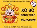 Thống kê sổ xố Đồng Tháp thứ 2 ngày 23/11/2020