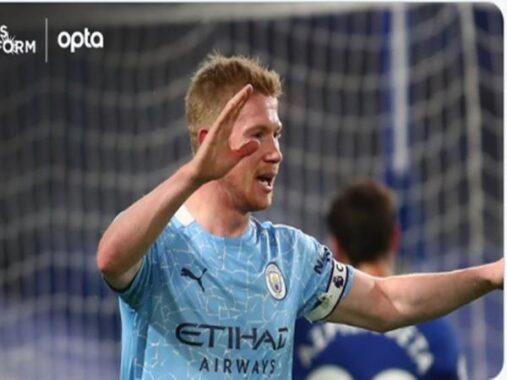 Bóng đá Anh 4/1: Kevin De Bruyne khiến NHM Chelsea tan nát cõi lòng