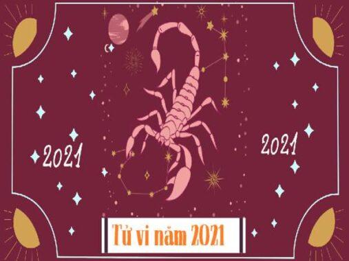 Tử vi cung Bọ Cạp trong năm 2021