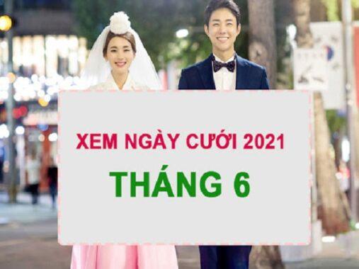 Xem ngày cưới tháng 6 năm 2021 cho 12 con giáp
