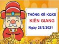 Thống kê KQXSKG ngày 28/2/2021 – Thống kê xổ số Kiên Giang chủ nhật