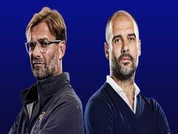 HLV Pep Guardiola và Jurgen Klopp