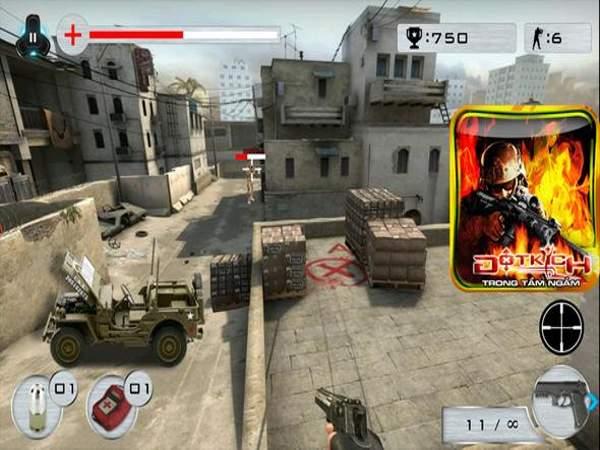 Hướng dẫn chơi đột kích offline trên mobile
