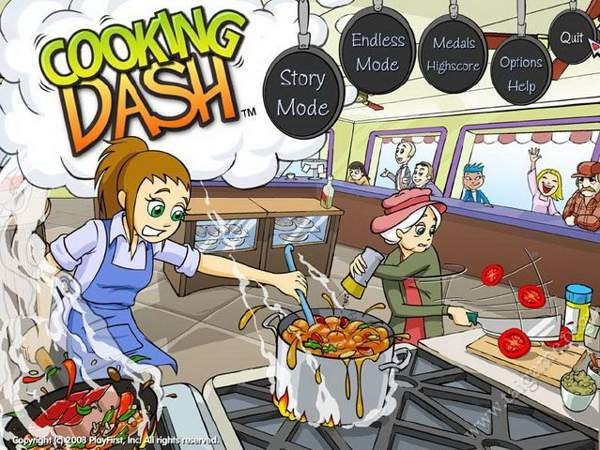 Game nấu ăn Cooking Dash