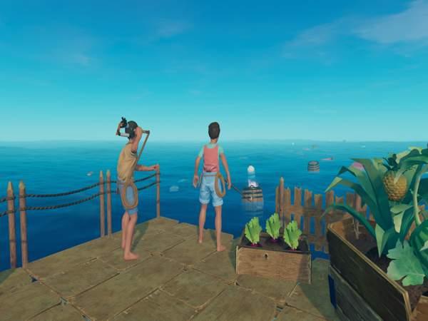 Raft là game sinh tồn nhẹ cho pc được nhiều người chơi