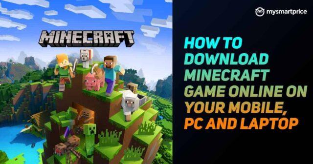 Tải xuống miễn phí Minecraft: Trên thiết bị di động, PC và máy tính xách tay của bạn