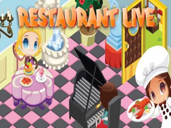 Game nấu ăn nhà hàng cực hấp dẫn