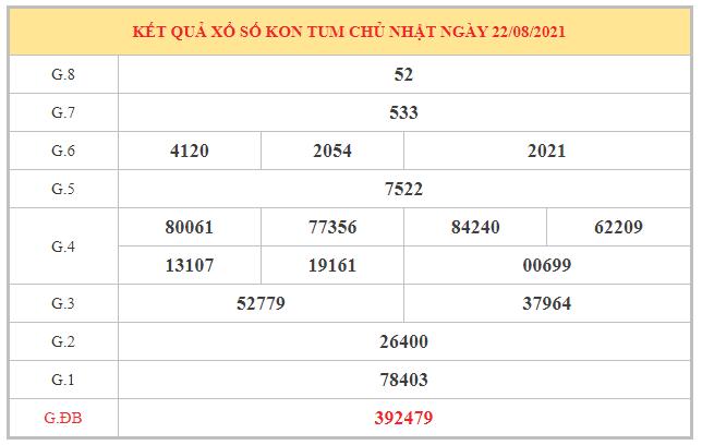 Thống kê KQXSKT ngày 29/8/2021 dựa trên kết quả kì trước