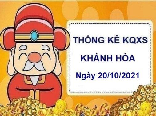Thống kê xổ số Khánh Hòa ngày 20/10/2021 hôm nay thứ 4
